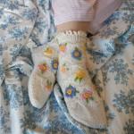 Alpine Meadow Bed Socks