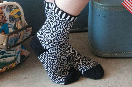 Jersey Turnpike Socks (New Jersey)