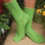 Nana's Garden Socks