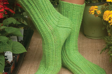 Nana's Garden Socks (Kentucky)