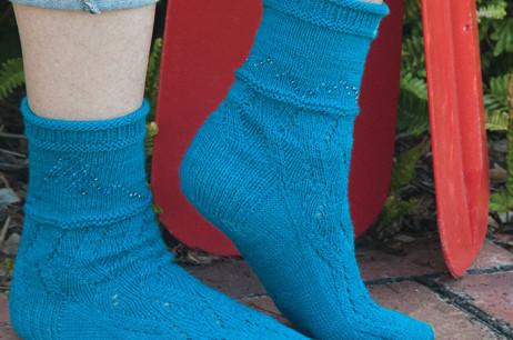 Willamette River Socks (Oregon)