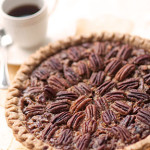 Chocolate Toffee Pecan Pie